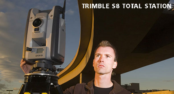 Texas Oklahoma Dealer for Trimble S6 and S8 Robotic Total Station